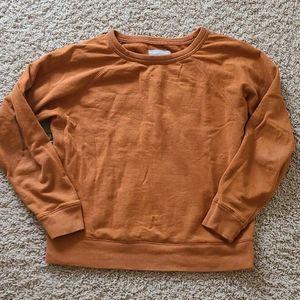 Everlane crop cotton sweatshirt medium